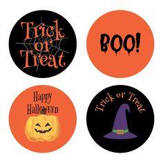 Halloween Printable, Halloween Labels, Halloween Stickers, Halloween Mason Jars, Halloween Table Decorations, Vintage Mason Jars, Painted Wine Bottles, Colorful Candy, Printable Labels