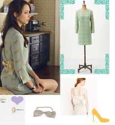 Pretty Little Liars: Spencer Hastings in Anthropologie
