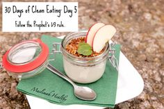 Clean Eating Tips Day 5: Follow the Prophet's 1/3 rule. Click the image to join my Facebook group for daily tips!