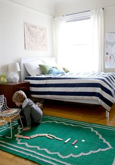 color palette. Color Star:  Colorful Rugs That Make a Big Impact