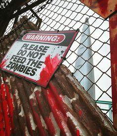 Zaczęło sie!  #zombie  #zombieattack #seoul #lotte #lotteworldtower #lotteworld #lotte #korea #seul #podroze #halloween #blood #rust #tower @tokarzewska @lotte_worldtower