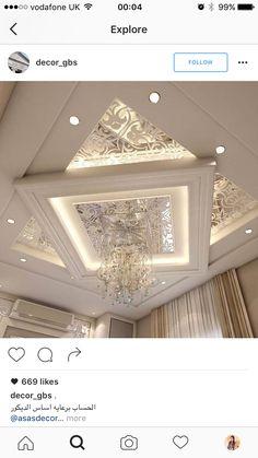 Luxury Bedroom Design, Ceiling Design Modern, Home Ceiling, Ceiling Design Living Room, Ceiling Decor, Celling Design, Ceiling Design, Ceiling Light Design, Ceiling Design Bedroom
