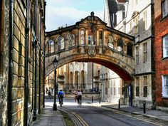 Oxford - The famous bridge