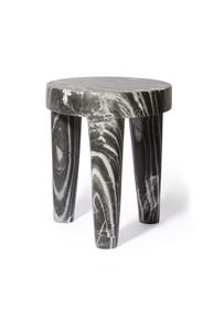 Marble Tribute Stool by Kelly Wearstler