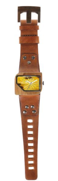 Mistura Pellicano wooden timepiece
