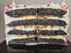 FEHÉRCSOKIS MÁKTORTA CITROMKRÉMMEL – DOLCE FAR NIENTE Tiramisu, Cake, Ethnic Recipes, Food, Kuchen, Essen, Meals, Tiramisu Cake, Torte