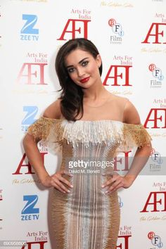 Amy Jackson attends The Golden Gala in aid of Arts For India at BAFTA Piccadilly on May 2017 in London, England. Film Le, Amy Jackson, Star Girl, Most Beautiful Indian Actress, London England, Bollywood Actress, Goddesses, Indian Actresses, My Girl
