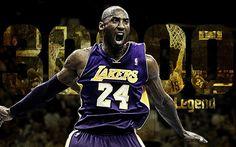 Kobe Bryant, NBA, LA Lakers, fan art, basketball players, Los Angeles Lakers