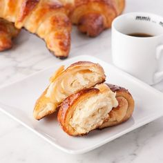 Croissants, Gluten Free (labor intensive, but I am intrigued) Gf Recipes, Dairy Free Recipes, Great Recipes, Cooking Recipes, Recipes Dinner, Potato Recipes, Pasta Recipes, Crockpot Recipes, Soup Recipes