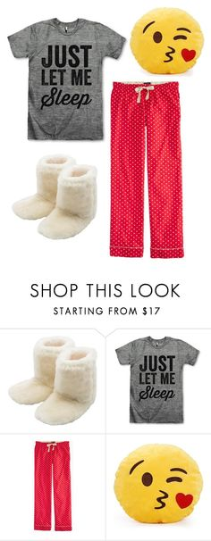 """""""Sleepover"""" by kaitlyns0512 on Polyvore featuring M&Co, J.Crew, women's clothing, women, female, woman, misses and juniors"""