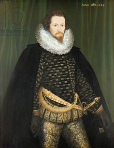 TitleRobert Devereux (1566-1601) Earl of Essex, 1594 (oil on canvas)creatorHilliard, Nicholas (1547-1619)NationalityEnglishLocationPrivate CollectionMediumoil on canvasDate1594 (C16th)