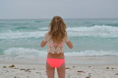 I'm a bikini, beach, tan, summer kind of girl.