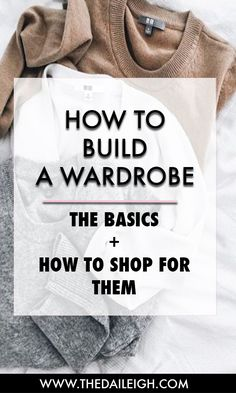 How to add and shop for your wardrobe basics
