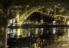#PORTORIBEIRA #FOTONOTURNA Portugal, Douro, Marina Bay Sands, Photography, Travel, Port Wine, Landscape Photography, Boats, Photos