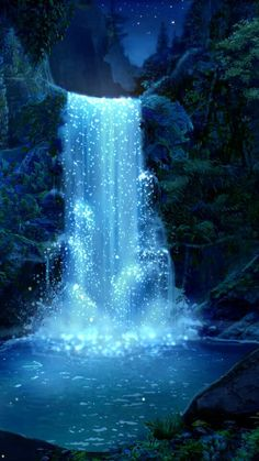 Beneath The Surface - Day Six - Wattpad Night Sky Wallpaper, Anime Scenery Wallpaper, Landscape Wallpaper, Galaxy Wallpaper, Fantasy Art Landscapes, Beautiful Landscapes, Fantasy Artwork, Episode Backgrounds, Fantasy Background