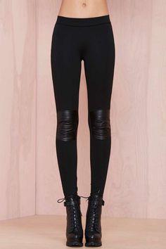 Nasty Gal Toughen Up Leggings - Pants | Bottoms