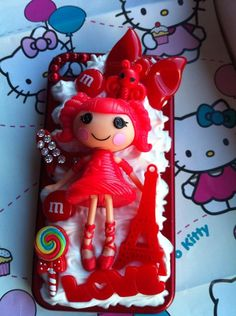 Stunning Mini Lalaloopsy doll Iphone 4/S case by GlitznGlamour65, £16.00