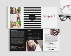 Argent double sided  5 x 7 trifold brochure by deideigraphic, $200.00