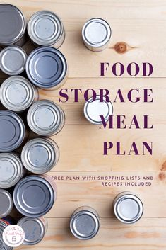 Grab your free food storage shopping lists with recipes and shelf stable conversions included. Start building food storage without wasting space on food you won't eat by building it from recipes. | emergency food supply | long term food storage | emergency food storage |