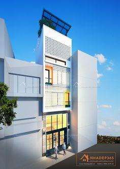 Thiết kế nhà phố 4 tầng diện tích 30m2 hiện đại và phong cách