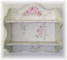 Vintage Rose Shelf