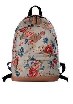 0383ac54ea9 Keep your style focused with this fashionable allover print backpack! -  Dimension  Approx