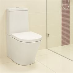 Cruise Close Coupled Toilet with Luxury Soft Close Seat - £299 http://www.bathroomheaven.com/cruise-bathroom-suite/cruise-close-coupled-wc-8324.aspx