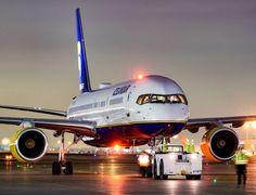 "Icelandair Boeing 757-208 TF-FIJ ""Surtsey"" pushing back at Toronto-International, May 2017, (Photo via Instagram: @totalaviation)"