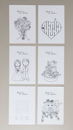 Print these free coloring pages for the kids at your wedding! Print these free coloring pages for the kids at your wedding!,DIY Wedding Tutorials Get these FREE coloring pages for weddings! Kids Table Wedding, Wedding With Kids, Mod Wedding, Dream Wedding, Rustic Wedding, Kids Wedding Favors, Fall Wedding, Kids Wedding Games, Childrens Wedding Games