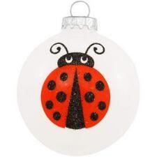 Legend Of The Ladybug Glass Ornament