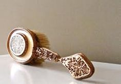 """Angeline's hair brush, gifted to Jordan by """"Ray""""."""