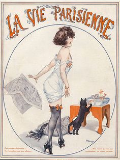Cheri Herouard illustration for La Vie Parisienne
