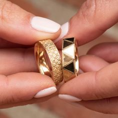 All Wedding Rings Matching Wedding Rings, Matching Rings, Gold Wedding Rings, Wedding Matches, Gold Rings, Jewlery, Engagement Rings, Unique, Rings