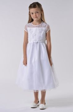 Us Angels Communion Dress (Little Girls & Big Girls) available at #Nordstrom $182