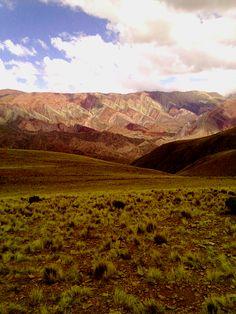 Serrania del Hornocal, San Salvador de Jujuy, Argentina.