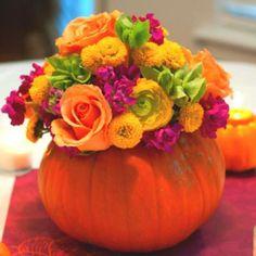 Fall centerpiece | Fall Weddings