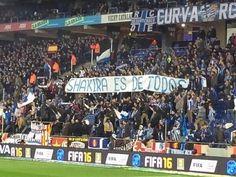 L'Espanyol condemna les pancartes i anuncia mesures contra la Curva.  #President #JoanCollet #Pancartes #Espanyol #Shakira