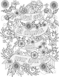 Printable Adult Coloring Pages. 63 Printable Adult Coloring Pages. 20 Gorgeous Free Printable Adult Coloring Pages Quote Coloring Pages, Coloring Pages Inspirational, Printable Adult Coloring Pages, Disney Coloring Pages, Mandala Coloring Pages, Coloring Pages For Kids, Coloring Books, Coloring Sheets, Inspirational Quotes