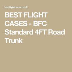 BEST FLIGHT CASES - BFC Standard 4FT Road Trunk