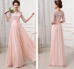 This+dress+could+be+custom+made,+there+are+no+extra+cost+to+do+custom+size+and+color.  Description+of+long+bridesmaid+dress 1,+Material:+chiffon,+lace,+elastic+silk+like+satin,+pongee.+  2,+Color:+picture+color+or+choose+from+the+color+chart,+if+you+need+fabric+swatch,+you+could+order+by+thi...