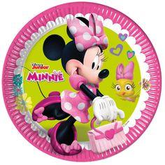 Pinkki Minni- lautanen, suuri