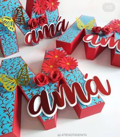 3d Letters, Bead Loom Bracelets, Mom Day, All Craft, Loom Beading, Creative Gifts, Cake Toppers, Party Themes, Stitch Patterns