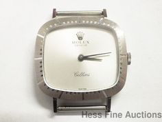 Genuine Rolex Cellini 4082 1600 18k White Gold Ladies 19J Watch w box Papers #Rolex #Sport