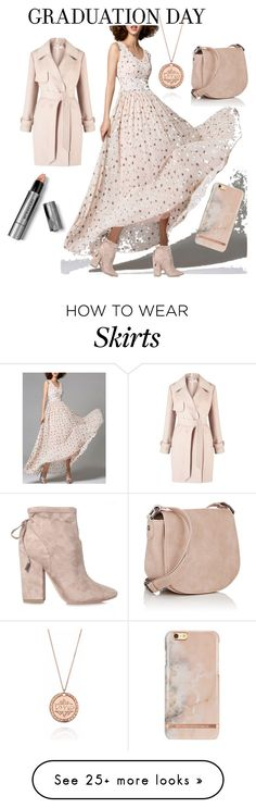 """pretty passed away pink full airy skirt to play with at graduation"" by caroline-buster-brown on Polyvore featuring WithChic, Kendall + Kylie, Burberry, Miss Selfridge, Deux Lux, KJ's Laundry and Graduation"