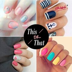 Bring in the fresh colours of summers on to your nails this season. Which of these pretty nail arts are you opting for?