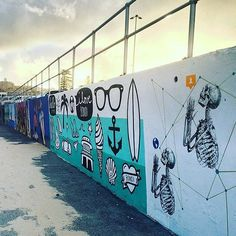 #bondibeachgraffitiwall #graffiti #art #artwall #sydneyaustralia #bondibeachsydney  #fanphoto #regram from @jillamymorrison  Art by @rosieapps and @notnotcamscott  Check out our website for artwork and #artist info:bondigraffiti.com #bondi #bondibeach #bondiwall #bondiartwall #surf #sydney #streetart #graffiti #instagraffiti #art #mural #sydneystreetart #bondigraffiti #communitywall #graffitiart #bondistreetart by bondibeachgraffitiwall http://ift.tt/1KBxVYg