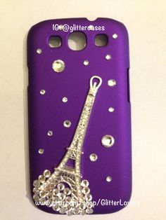 Crystal Eiffel Tower Samsung galaxy S3 case on Etsy, $25.00