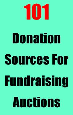 Business Donation Sources For Fundraising Auctions & Raffles - Awesome list of the best donation links! http://www.fundraiserhelp.com/fundraising-auction-donations-sources.htm
