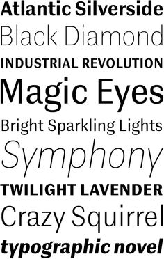 Contemporary Sans Overview | LudwigType http://contemporarysans.ludwigtype.de/