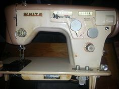 White Sewing Machine model 6477.